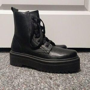 992105b0096b ASOS Shoes   Design Attitude Lace Up Boots Nwt   Poshmark